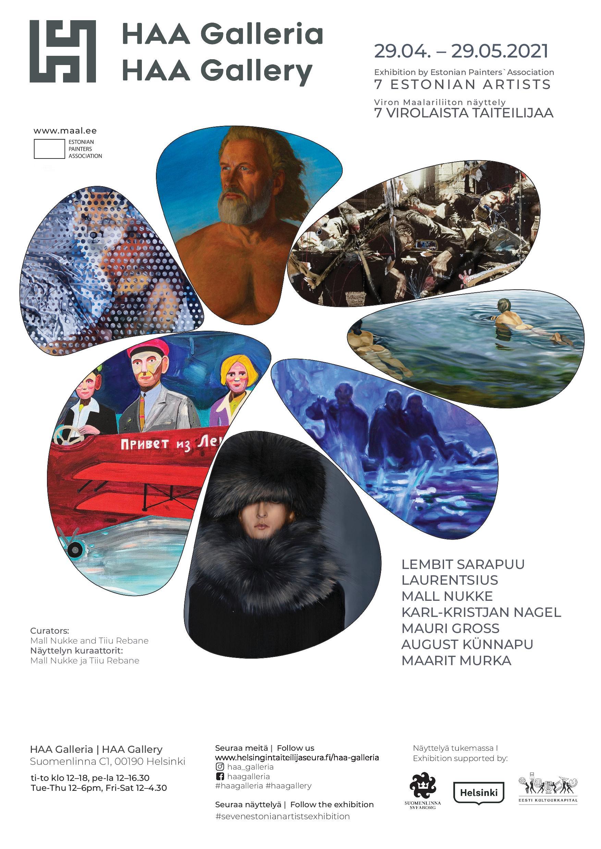 Seven Estonian painters at HAA Gallery