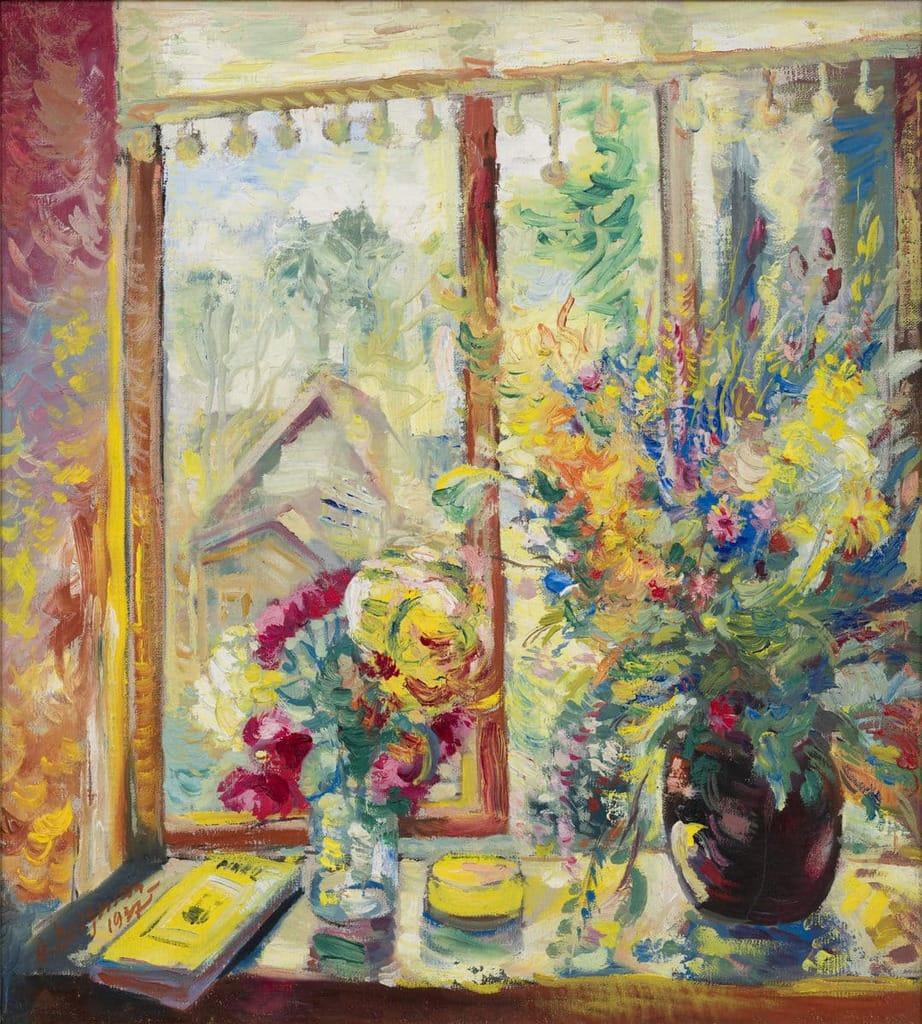 "Aleksander Vardi ""Lilled aknal"" 1973"
