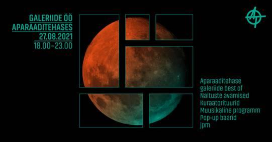 Galeriide öö vol. 3 ja Aparaaditehase aastanäitus