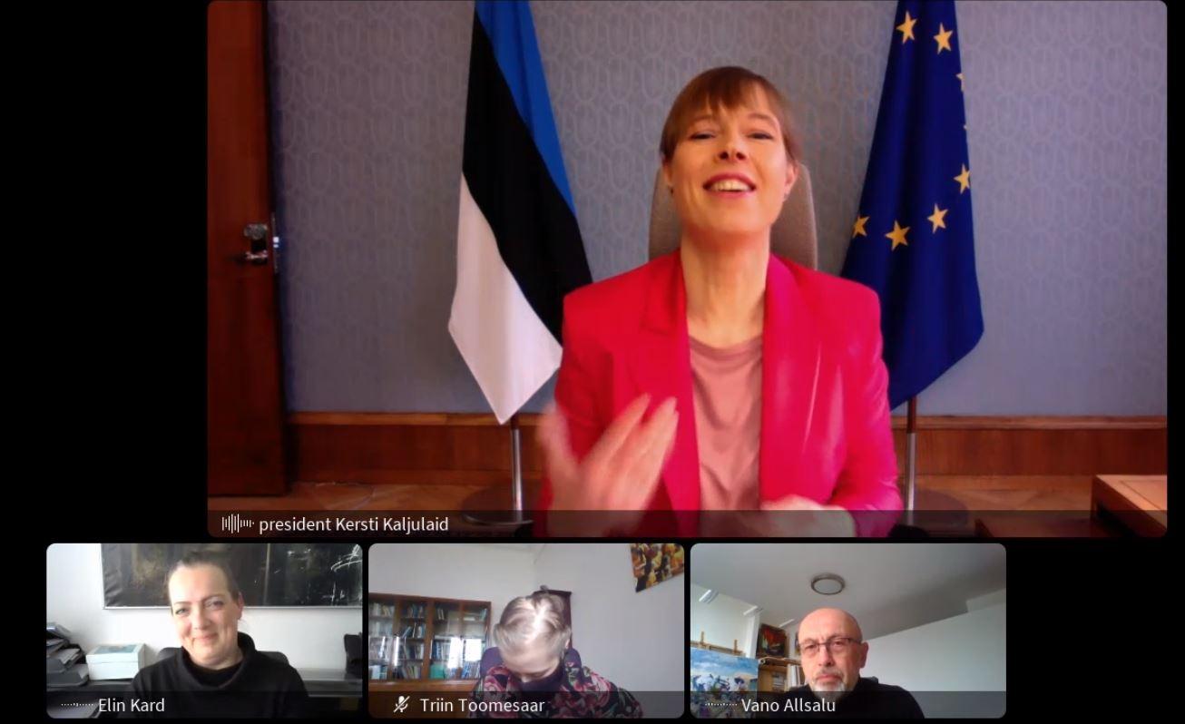 Kohtumine president Kersti Kaljulaidiga