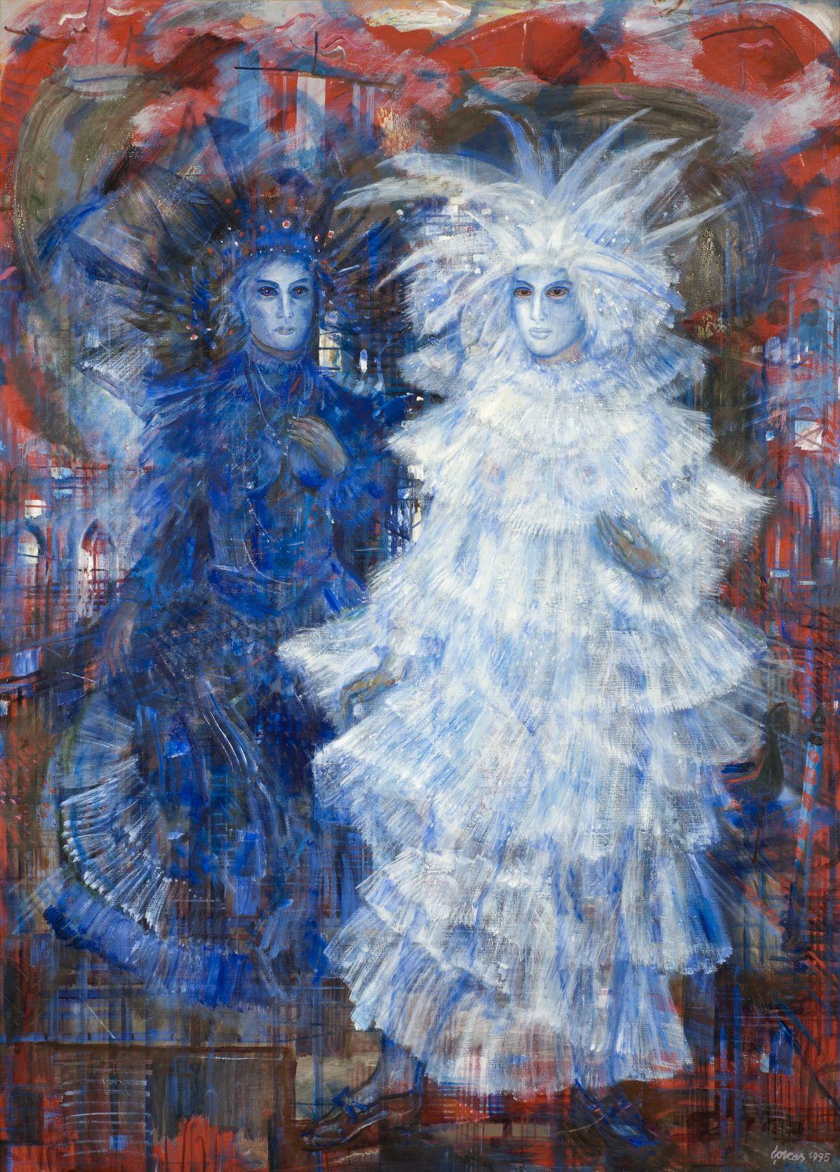 """Evald Okas """"Veneetsia karneval"""" 1995"""