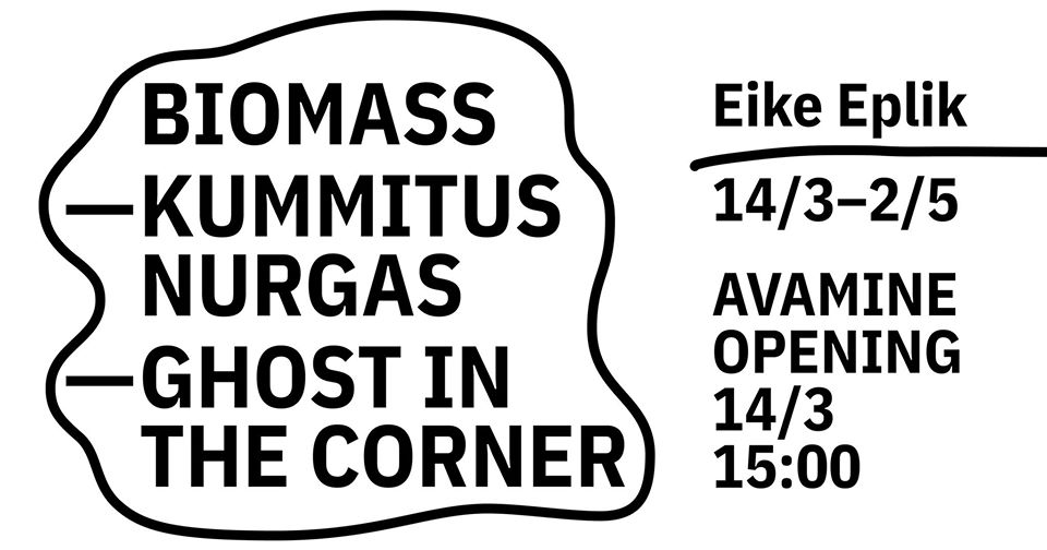 "Eike Eplik ""Biomass – kummitus nurgas"""