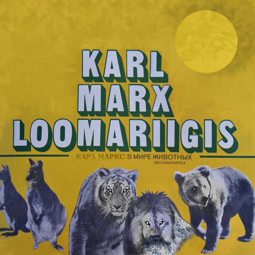 "Erki Kasemets's personal exhibition ""Karl Marx in the Animal Kingdom"""
