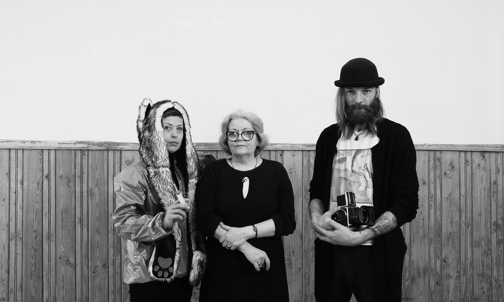 Katrin Essenson, Anne-Mai Heimola ja Danel Rinaldo