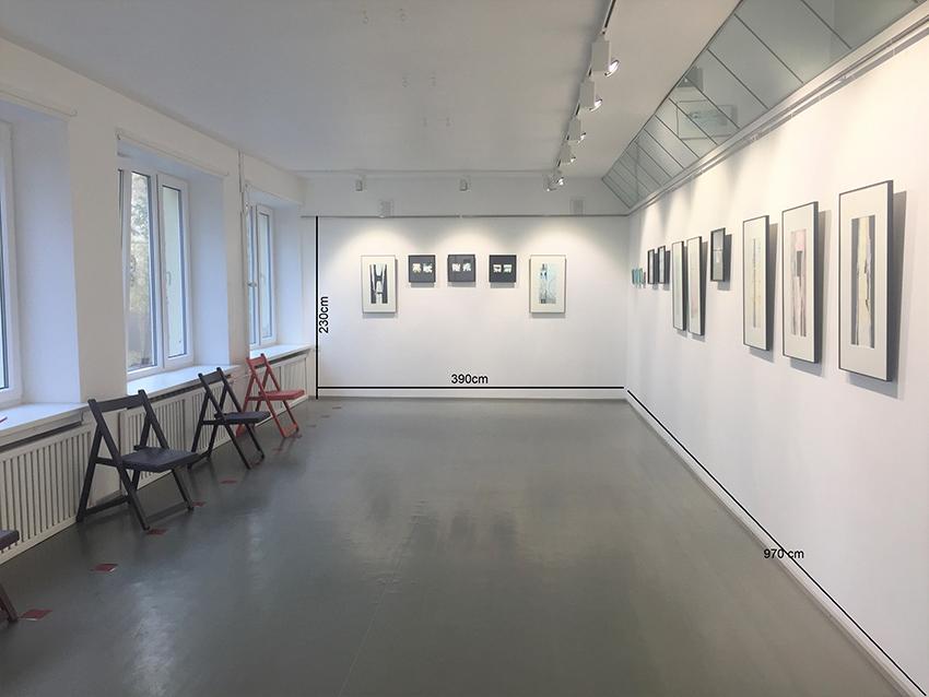 Kärdla Kultuurikeskuse näituseruum
