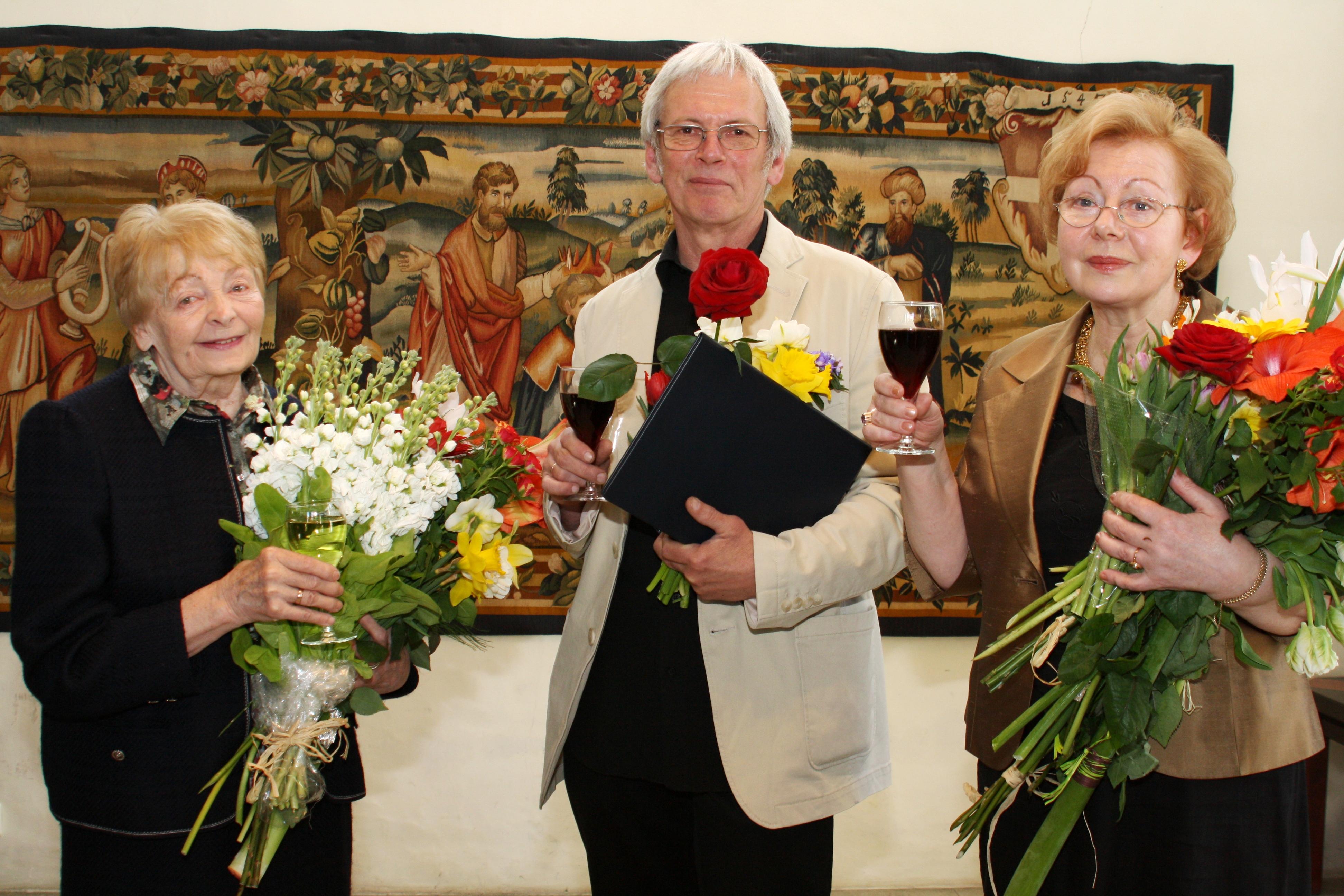 Laureaadid 2013: Evi Tihemets, Rait Prääts, Juta Kivimäe