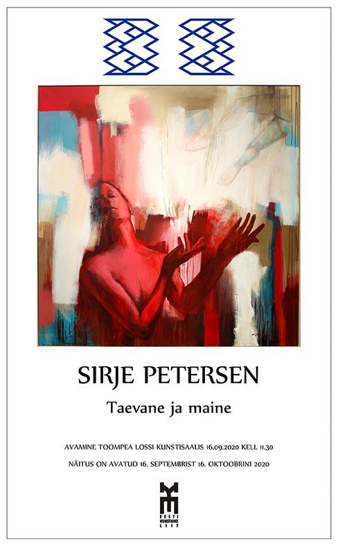 "Sirje Peterseni isiknäitus ""Taevane ja maine"""