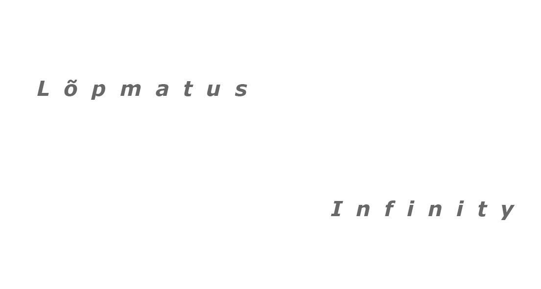 """Mall Paris's personal exhibition """"Infinity"""""""