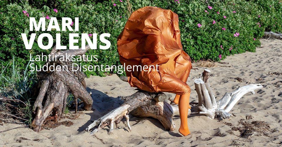 """Mari Volens's exhibition """"Sudden Disentanglement"""""""