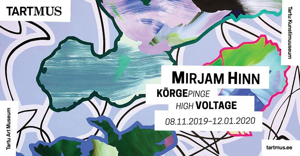 """Mirjam Hinn's exhibition """"High Voltage"""""""