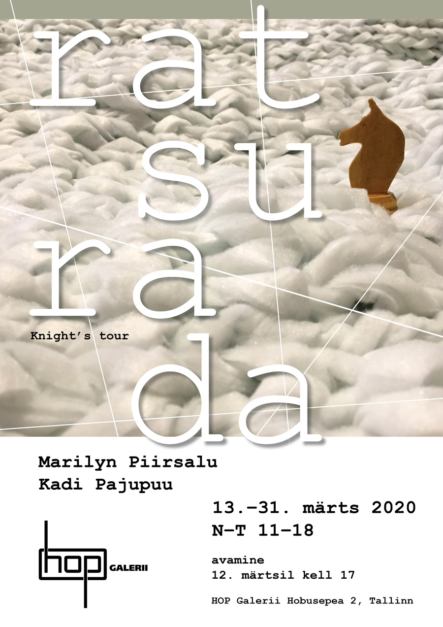 "Kadi Pajupuu ja Marilyn Piirsalu näitus ""Ratsurada"""