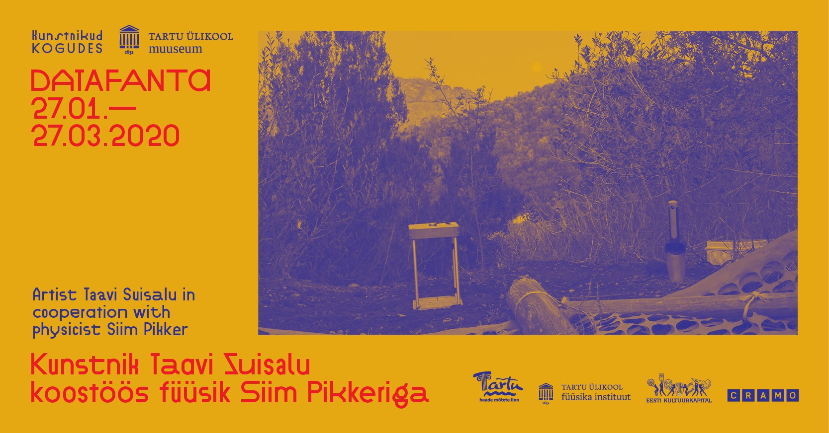 """Taavi Suisalu and Siim Pikker """"Datafanta"""""""