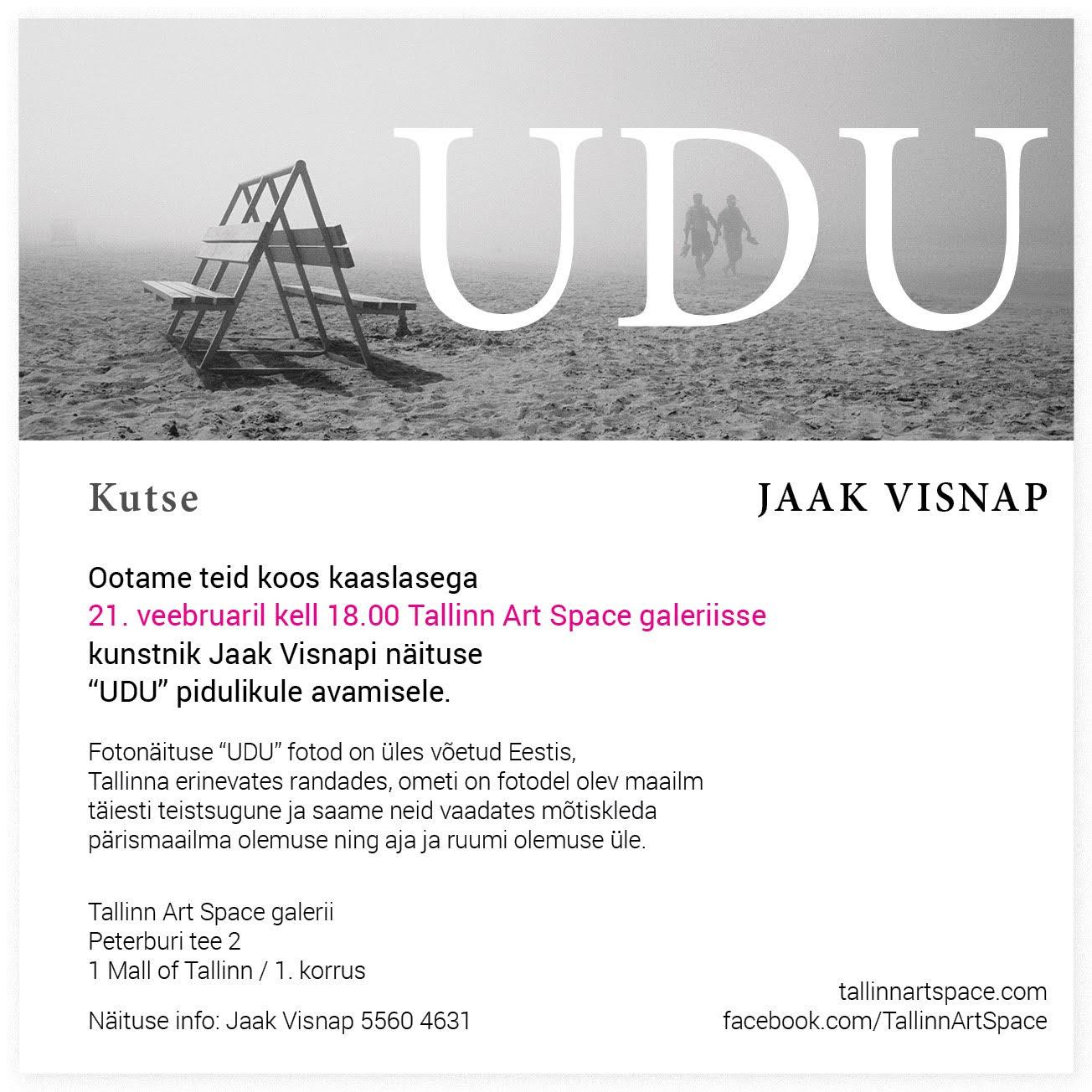 "Jaak Visnapi fotonäitus ""UDU"""