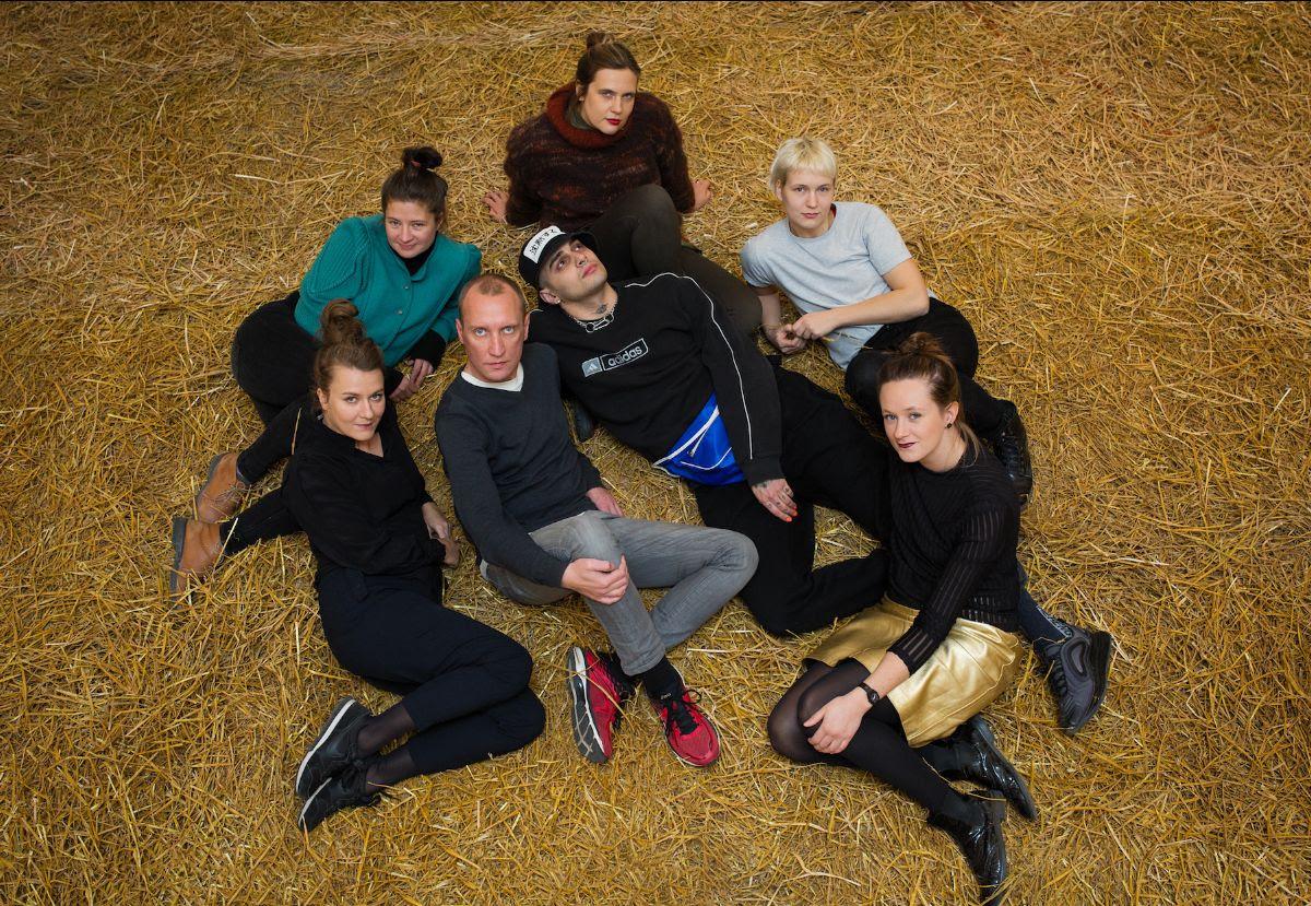 From the left: Flo Kasearu, Renate Keerd, Mark Raidpere, Rene Köster, Edith Karlson, Sigrid Savi, Evelyn Raudsepp