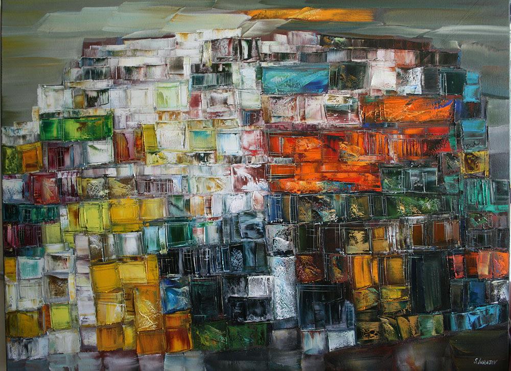 """Sergei Inkatov's solo exhibition """"Helios"""""""